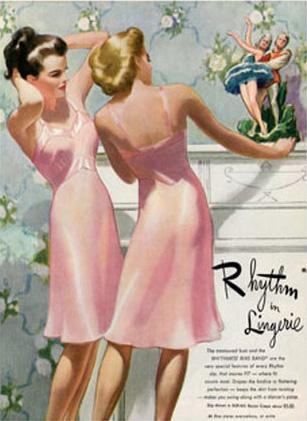 1950's Slip Ad